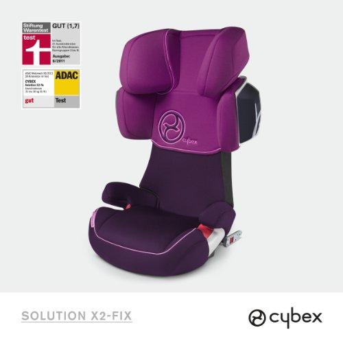 Cybex Gold Line Autositz Solution X2-Fix Violet