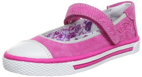 Lurchi Shirley Ballet Flats Girls Pink Pink (Rosé 23) Size: 12 (30 EU)