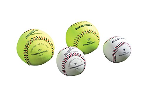 "Ragballs A122609T Incrediball Polyester Softball, 12"" Size, Yellow"