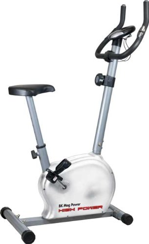 HIGH POWER BK MAG POWER Cyclette magnetica con volano da 5 Kg per allenamento home-fitness, portata max 110 Kg