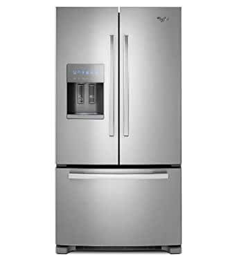 Whirlpool GI6FDRXXY Gold 25.5 Cu. Ft. Stainless Steel French Door Refrigerator - Energy Star