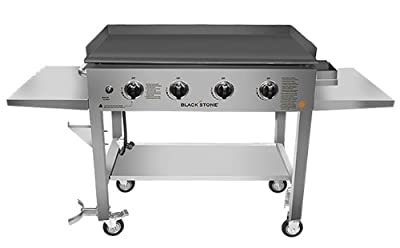 1560 Blackstone North Atlantic Imports LLC 36in Stainless Steel Griddle Cooking Station