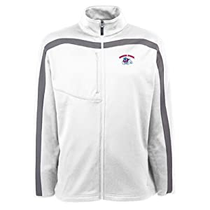 Fresno State Bulldogs Jacket - NCAA Antigua Mens Viper Performance Jacket White by Antigua