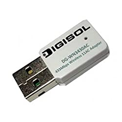 Digisol DG-WN3430AC 802.11AC 433Mbps Dual Band USB Adapter