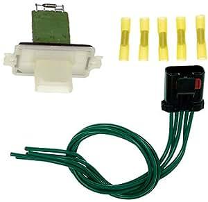 apdty 084537 blower motor resistor bmr kit w. Black Bedroom Furniture Sets. Home Design Ideas