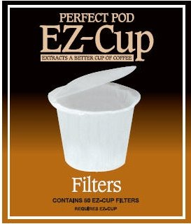 Ez Cup Filter By Perfect Pod 6 Pack (300 Filters)