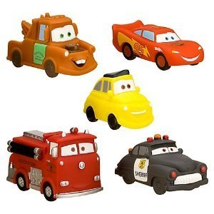 Amazon.com: Disney Cars Squeeze Toy 5 Piece Set: Toys & Games