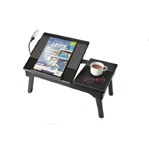 Personal Portable Table & Workstation with Storage Compartment