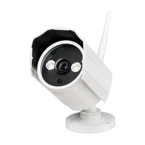 UOKOO-Bullet-IP-Camera-Builtin-8GB-ROM-HD-720P-Wireless-IndoorOutdoor-Waterproof-Surveillance-Network-Camera-with-Night-Vision-and-Motion-Detection-Email-Alert-Remote-View-for-SmartphonePC628GB