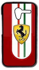 Dot Print Back Cover For Motorola Moto X (1st Gen) Ferrari Logo Printed Case