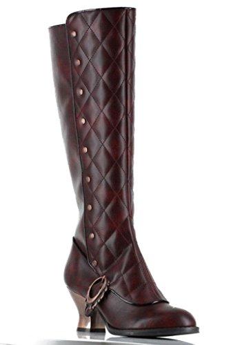 Womens-Hades-Victoriana-Boot-Burgundy