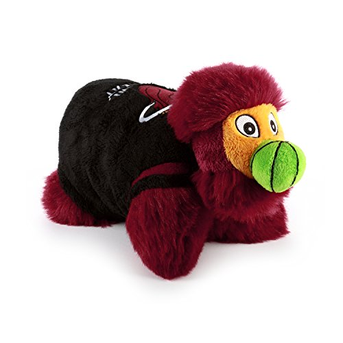 NBA Miami Heat Mini Pillow Pet, Medium, Red (Heat Pillow Pet compare prices)