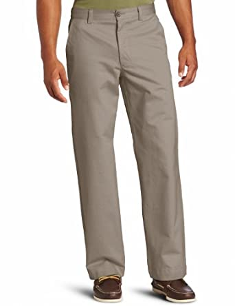 Dockers Men's Straight Fit Pant, Mud Flat, 28x32