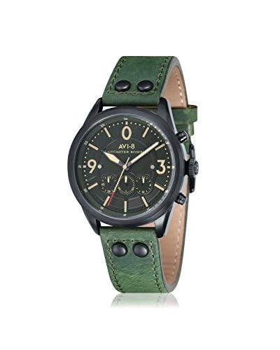 AVI-8 Men's AV-4024-04 Lancaster Bomber Green/Black Stainless Steel Watch