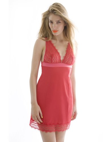 Mimi Holliday Frappe Poppy and Red Shoulder Slip SS12-32 M/12UK/10US