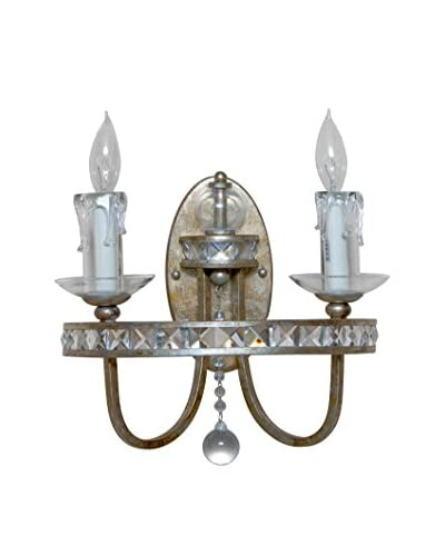 Candice Olson Aristocrat Wall Sconce, Antique Gold