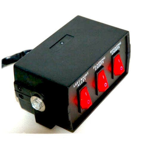3 Function Switch Box With Light