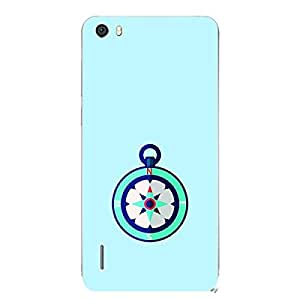 Skin4gadgets Designer Compass Colour - Pale Turqoise Phone Skin for HONOR 6 PLUS