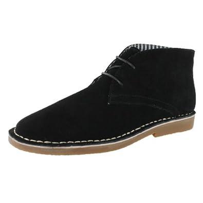 SoftMoc Men's Jensen 2-Eye Chukka Boot Black 7 M US