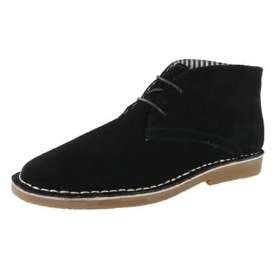 SoftMoc Men's Jensen 2-Eye Chukka Boot Black 9 M US