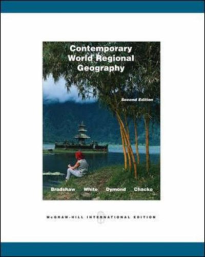 Contemporary World Regional Geography: With Interactive World CD PDF