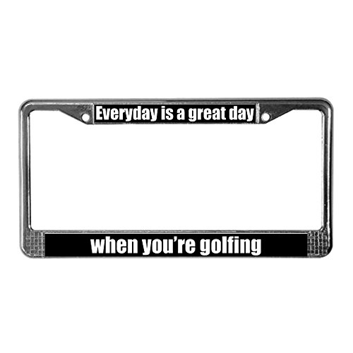 Top 5 Best Golf License Plate Frame For Sale 2016 Boomsbeat