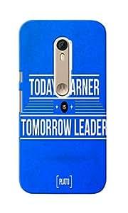 KnapCase Leader Designer 3D Printed Case Cover For Motorola Moto X Style