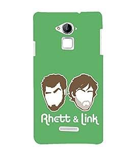 EPICCASE Rhett & Link Mobile Back Case Cover For Coolpad Note 3 Lite (Designer Case)