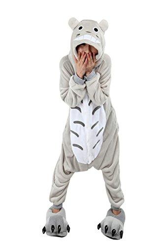 SaiDeng Kigurumi Sleepsuit Pajamas Cosplay Unicorn Homewear Lounge Wear Size XL Totoro