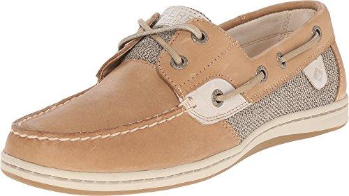 Sperry Top-Sider Women's Koifish Core Linen/Oat Boat Shoe 8 M (B)