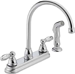 Peerless P LF Apex Two Handle Kitchen Faucet Chrome