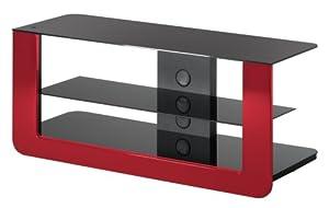 Meliconi flat vision flexi 300 table pour tv lcd plasma noir tv - Table pour television ...