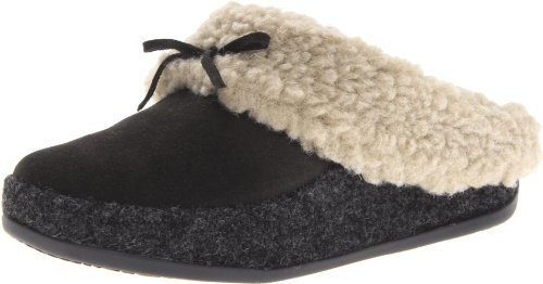 Fitflop Women'S The Cuddler Slippers,Anthracite,8 M Us front-967401