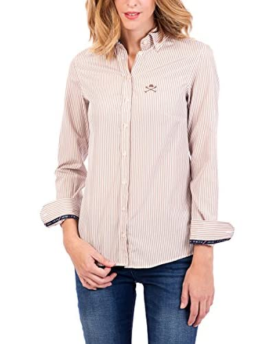 POLO CLUB Camisa Mujer Margot Academy