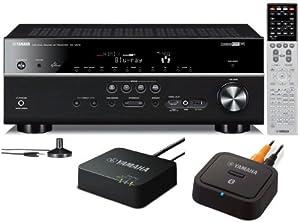 yamaha rx v675 7 2 channel network av receiver with. Black Bedroom Furniture Sets. Home Design Ideas