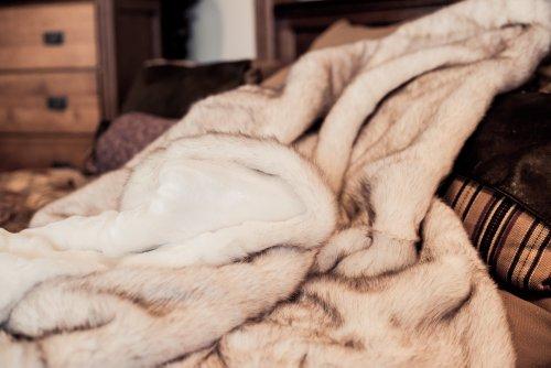 Faux Fur Comforter King front-718235
