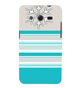Blue Color Patterns 3D Hard Polycarbonate Designer Back Case Cover for Samsung Galaxy Core 2 G355H