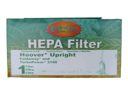 (1) 40130050 Hoover Fold Away Turbo Power 3100 Hepa Pleated Filter, Upright, Bageless, Widepath Vacuum Cleaners, 43615090, U5172900, U5175900, front-248372