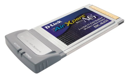 D-Link Dwl-Ag650 Wireless Cardbus Adapter