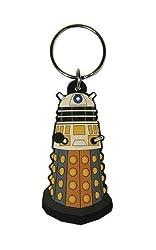 Official Doctor Who Dalek & Tardis Rubber Keyring Set