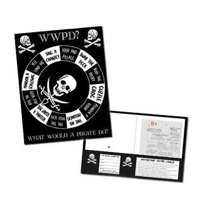 Pirate Spinner School Folder