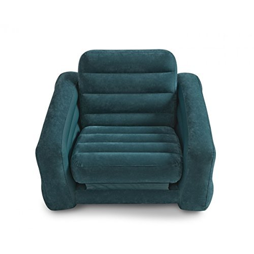 Intex-Aufblasmbel-Ausziehbarer-Sessel-Pull-Out-Chair-Grau-109-x-218-x-66-cm