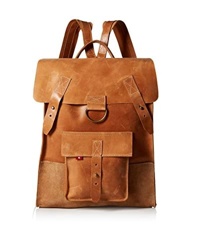 Oliberte Men's Flora Backpack, Rustic Brown