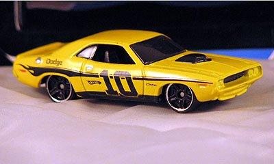 Hot Wheels Mystery Cars 2010 '70 Dodge Hemi Challenger - Yellow