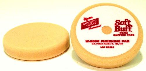 Meguiars Soft Buff Velcro Back Foam Finishing Pad - 6 1/2 Inch Diameter
