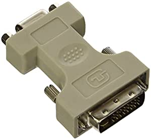 Manhattan 328883 Digital Video Adapter DVI-I Dual Link Male to VGA Female