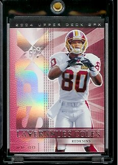 2004 Upper Deck SPX Laveranues Coles Washington Redskins Football Card #99 - Mint Condition - In Protective Display Case !! - Buy 2004 Upper Deck SPX Laveranues Coles Washington Redskins Football Card #99 - Mint Condition - In Protective Display Case !! - Purchase 2004 Upper Deck SPX Laveranues Coles Washington Redskins Football Card #99 - Mint Condition - In Protective Display Case !! (Upper Deck, Toys & Games,Categories,Games,Card Games,Collectible Trading Card Games)