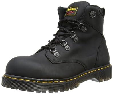 Dr. Martens Black Holkham Safety Boot Size 4
