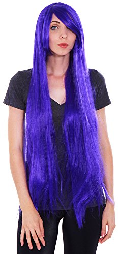 Simplicity Sexy Straight Style Cosplay Long Hair Wigs Costume Play Party