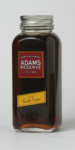 Adams Extracts Pure Vanilla Extract, 4-Ounce Glass Jars (Pack of 2)